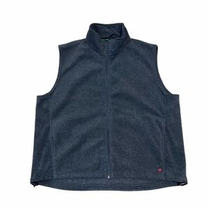 Woolrich Men's Fleece Vest Gray size XL
